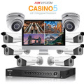 8 Hikvision Casino-5 DS-2CE56F7T-IT5Z Hikvision with TURBO HD DVR