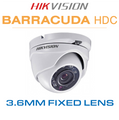 Hikvision Barracuda 2MP Dome camera with Infrared Nightvision DS-2CE56D0T-IRM