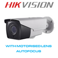 Hikvision HiWatch THC B220 Z Bullet with Motorised Autofocus 2.8mm - 12mm zoom lens