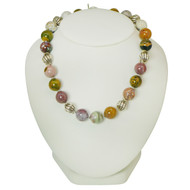 Silver and Jasper Necklace