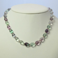 Flourite & Gold Necklace Set