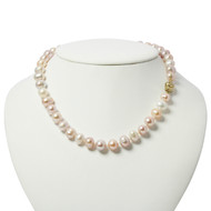 Natural Colour Freshwater Pearl Necklace
