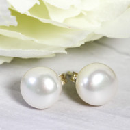 Large Pearl Studs