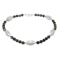 Labradorite & Silver Necklace