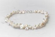 Twinned Pearl Necklace
