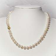 8mm Freshwater Bouton Pearl Necklace