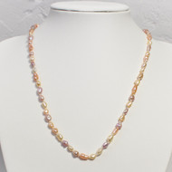 Natural Colour Stick Pearl Necklace
