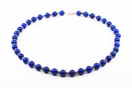 Lapis Lazuli And Silver Necklace