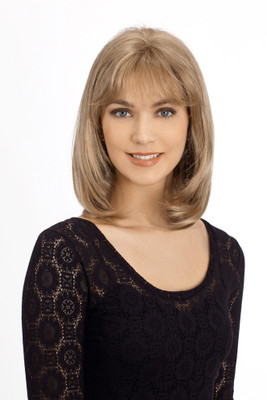 Louis Ferre Jenny Monosystem Illusion Front Wig front view