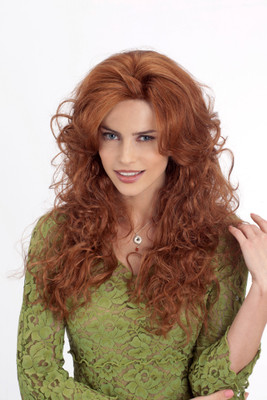 Louis Ferre Janice Monosystem Illusion Front Wig front view