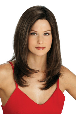 Louis Ferre SoHo Chic  Monosystem Lace Front Wig front view