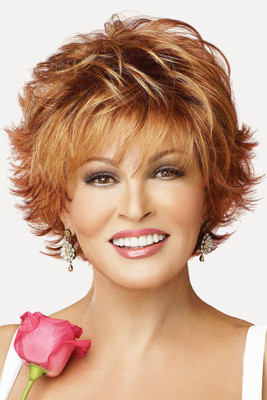 Voltage Raquel Welch Wigs Front View