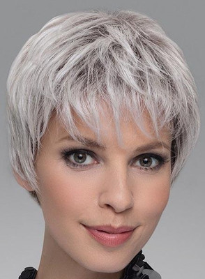 Encore - Ellen Wille - Front view - Silver Blonde Rooted