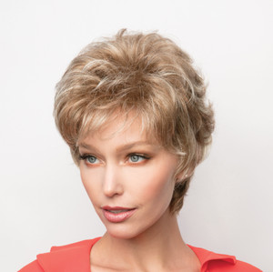 Joey synthetic wig by Rene of Paris front view 3