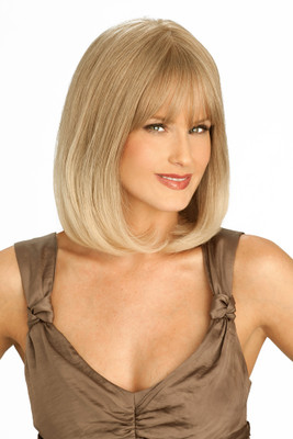 Louis Ferre PC108 Platinum Human Hair Wig Side