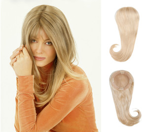 Louis Ferre TP 4002 Human Hair Top piece front