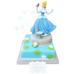 Princess of the Lake Birthday Cake