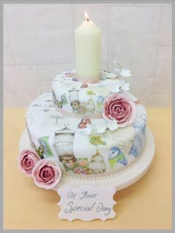 The Bird Cage Luxury Cake
