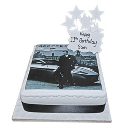 Spectre 007 Birthday Cake