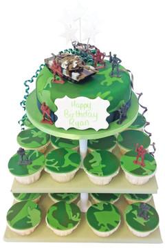 Tank Cake Tower