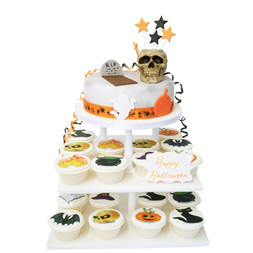 Halloween Party Cake Tower