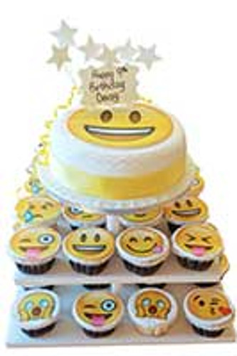 Crazy About Emojis? Try Our Emoji Cakes!