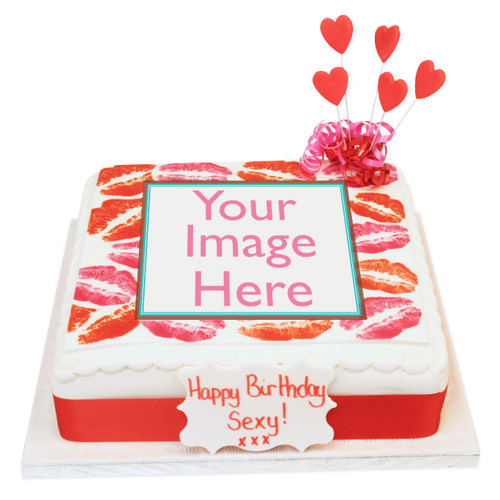 Kisses Photo Cake
