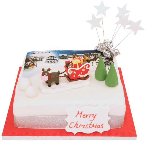 Christmas Rudolf Cake
