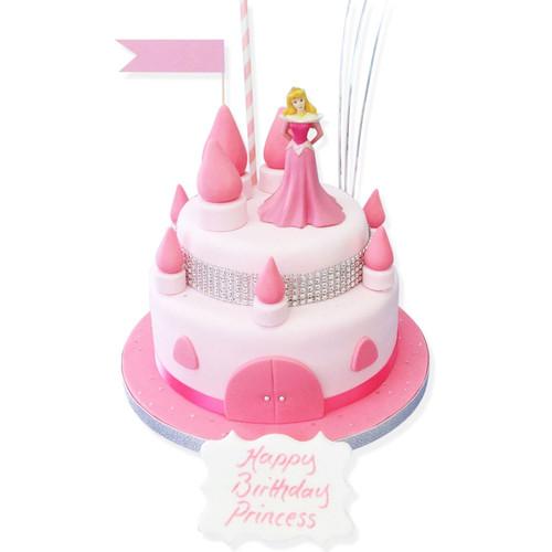 Sparkle Castle Birthday Cake
