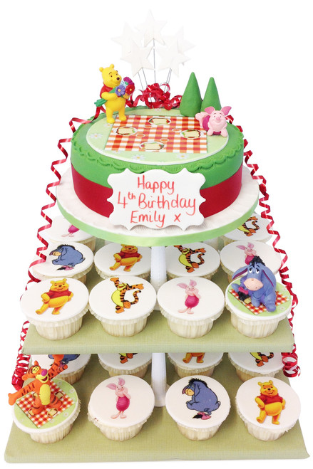 Pooh Cake Tower