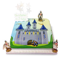 Knights Castle Cake