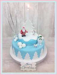 The Snowman Luxury Cake
