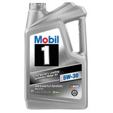 Mobil 1 5.1 Quart Jug 5w-30 Item# 15001