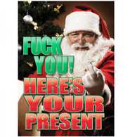 Fck you Here's your present Gift Bag