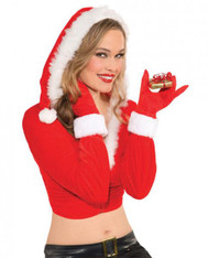 Christmas gloves for her - Red O/S