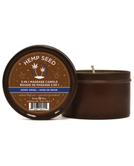 Hemp seed 3 in 1 Massage Candle - 6 oz Isle Of You
