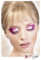 Baci Black Glitter Eyelashes Style 510