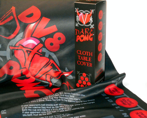DV8 Dare Pong 6 ft Table Cover