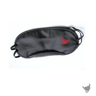 DV8 Naughty Heart Lifestyle Logo Satin Blindfold Mask - Black