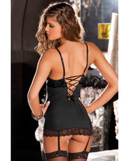Rene Rofe Hollywood Chemise - Black