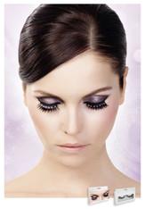 Baci Black-White Rhinestone Eyelashes Style 487