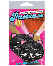 Pastease, Black Glitter Kitty Cat