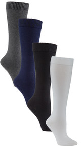 Womens Health & Comfort Knee High Diabetic Socks 3 Pack