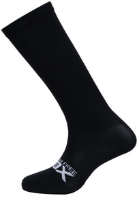 Sugar Free Sox Mens Easy Fit Black Compression Socks