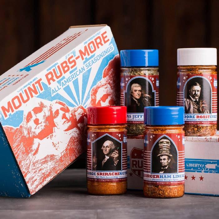 Great America Sales Gift: Mount Rubsmore: Great American Rubs
