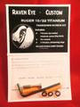 Ruger 10/22 TITANIUM stock takedown screw