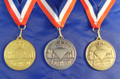 Diamond Jubilee Medal Embossed 3 colours