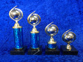 Strictly Ballroom Dance spinning globe dance Trophy 4 sizes
