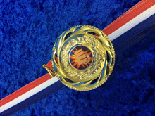 70mm medal supplied with ribbon
