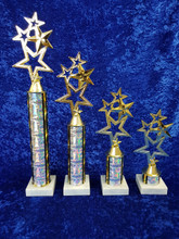 Four Star design trophy top